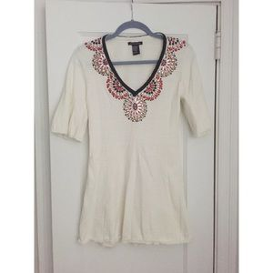 Boston Proper Jeweled Top Size S